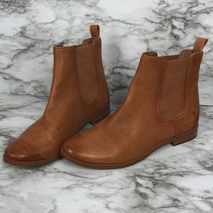 FRYE brown leather Chelsea boot size 8